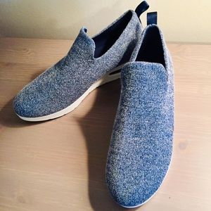 Dkny Shoes - DKNY Angie blue slip on platform sneakers 9 NEW